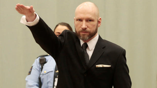 Anders Behring Breivik Appeal To European Court Of Human Rights Over Incarceration For Norway Massacre Rejected Cbs News