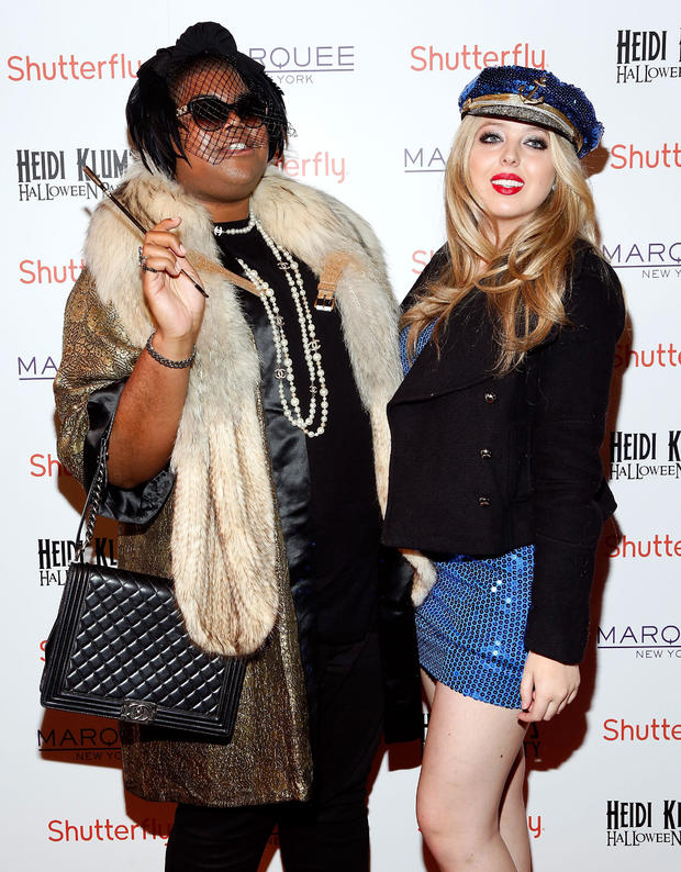 Tiffany Trump and EJ Johnson attend Heidi Klum's 14th Annual Halloween Party in New York City in 2013.