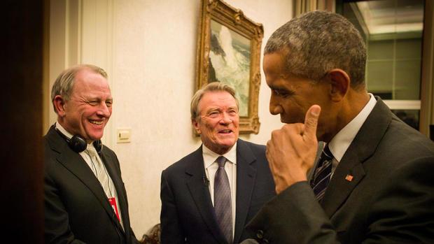 A president and a journalist: 17 interviews - CBS News