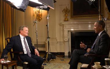A president and a journalist: 17 interviews
