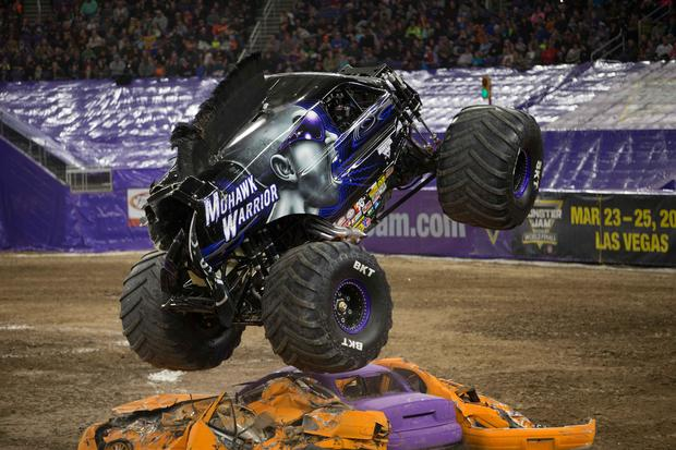 Inside monster truck rallies