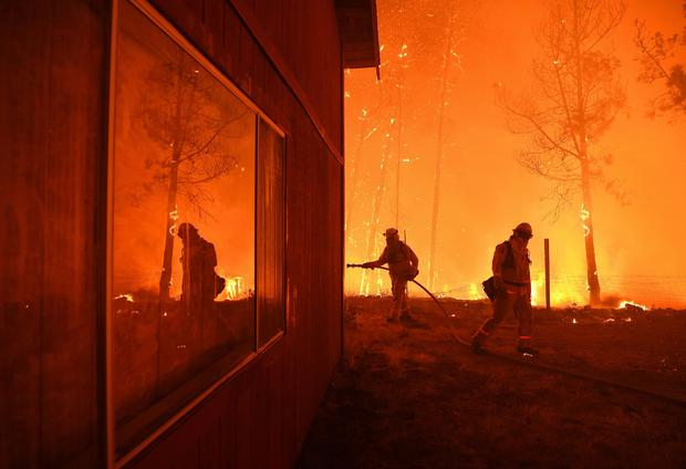 climate change wildfire season