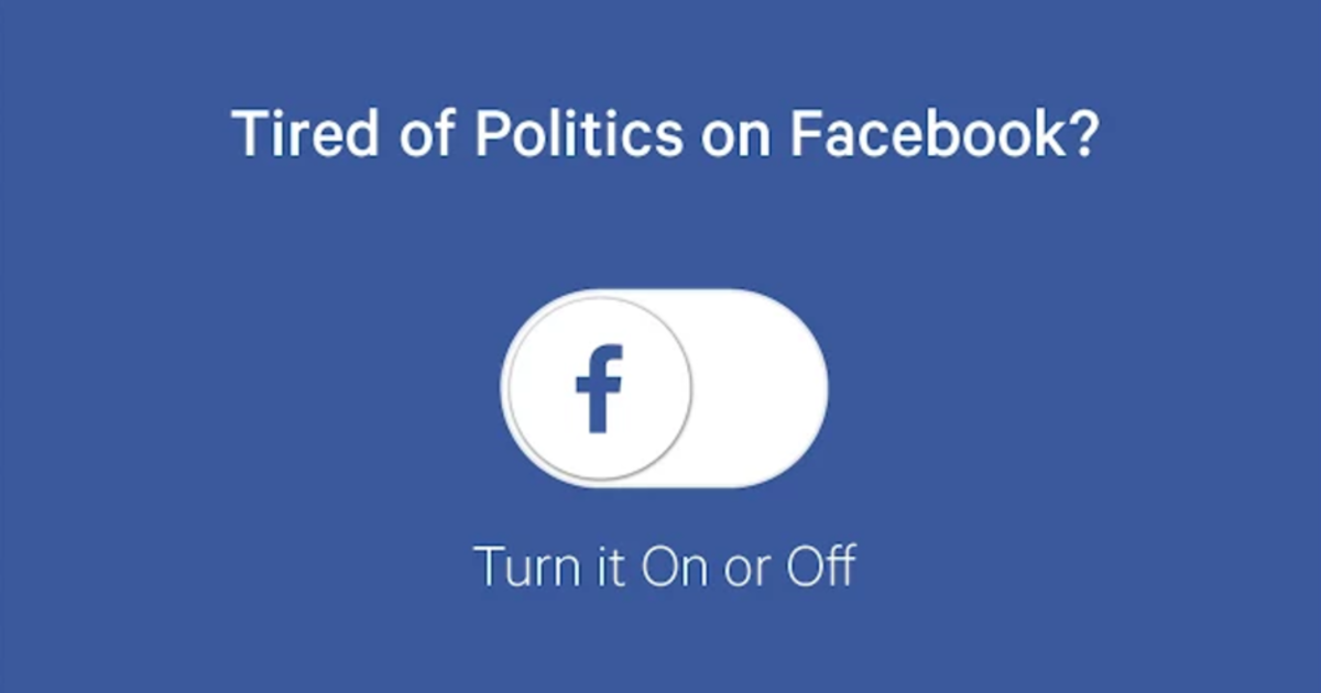3 ways to block political posts from your facebook feed cbs news