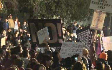 Violent protests at UC Berkeley over Breitbart editor's visit