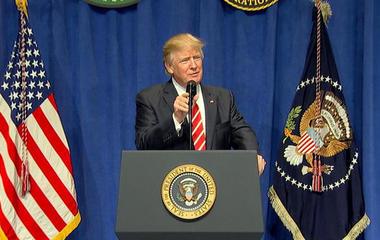 President Trump says media isn't reporting terror attacks