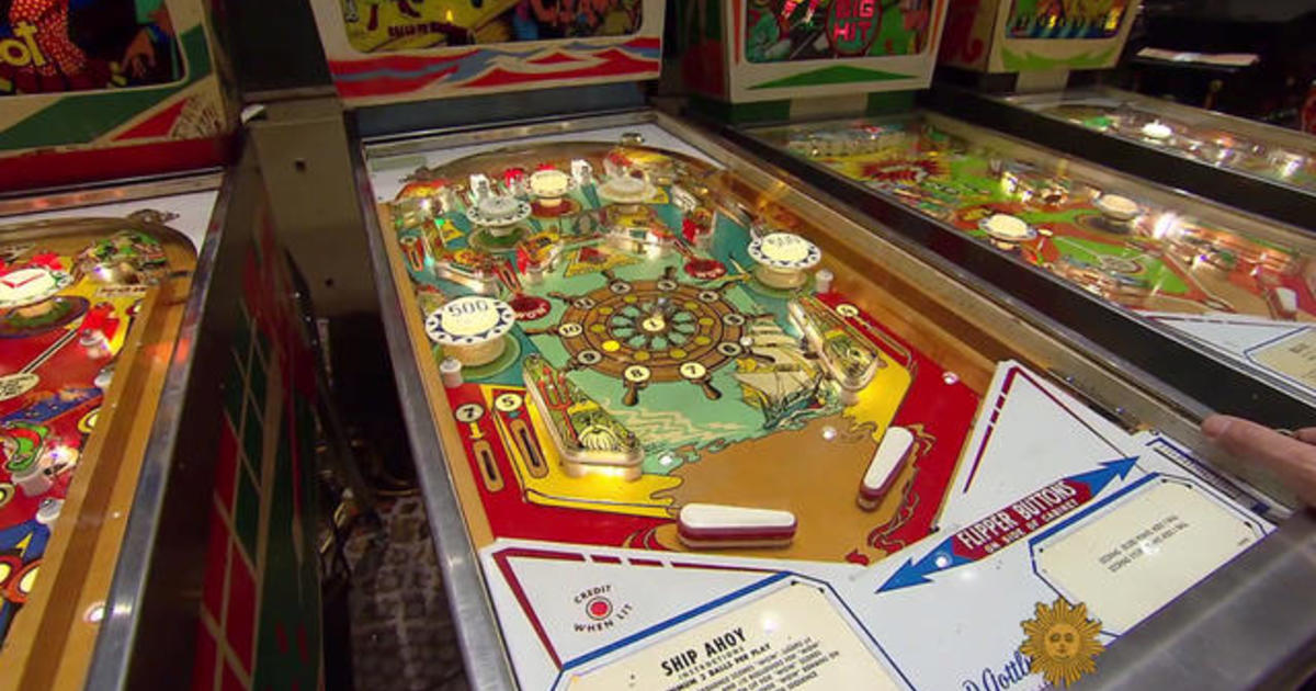 Swell Pinball In Back And Running Full Tilt Cbs News Interior Design Ideas Gentotryabchikinfo