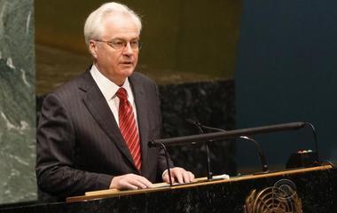 Russia's U.N. ambassador dies suddenly in New York