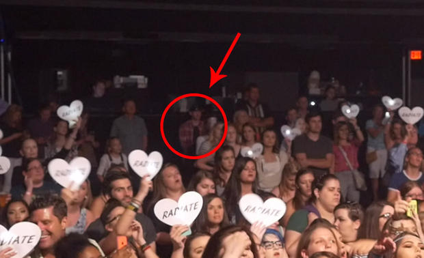 Kevin Loibl at Grimmie concert