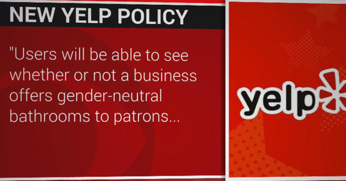 Bathroom Yelp yelp adds feature to search for restaurants with gender-neutral