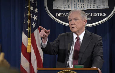 AG Sessions recuses himself from Russia probe
