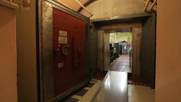 Inside a Cold War-era nuclear missile bunker