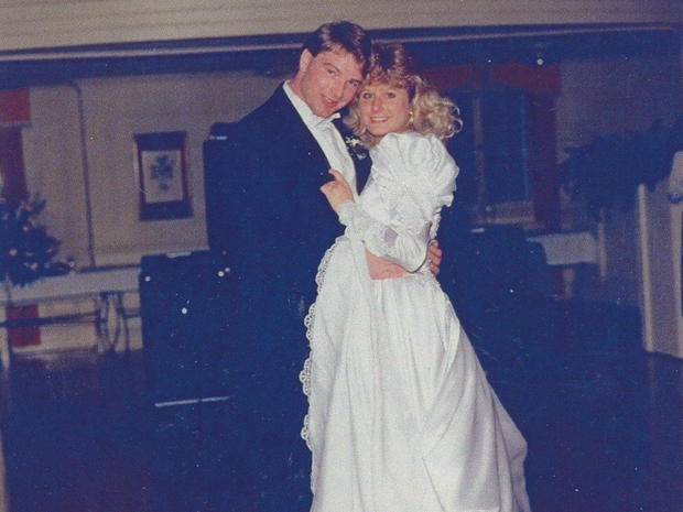 Cory and Curtis Lovelace wedding photo