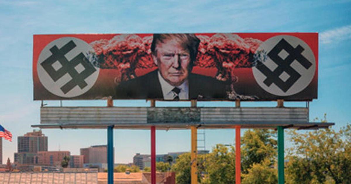 Anti trump billboard in arizona prompts death threats for Craft fairs in phoenix az