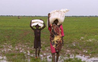 Scott Pelley on the famine crisis in South Sudan