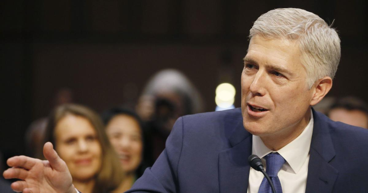 neil gorsuch confirmation hearings for supreme court  day
