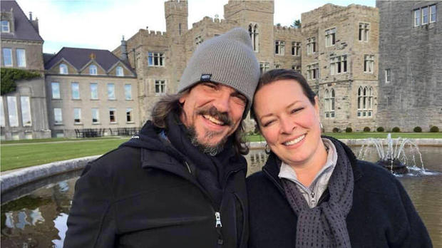 Kurt Cochran and his wife Melissa, who were in Europe to celebrate their 25th wedding anniversary and had been due to return to the United States on March 23, 2017, are shown in this photo released by the family in Salt Lake City, Utah.