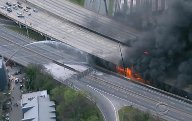 Atlanta braces for traffic nightmare after highway collapse