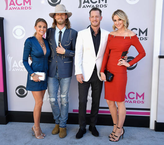 2017 ACM Awards red carpet