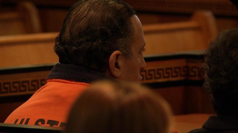 Gilberto Nunez at his sentencing