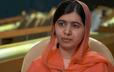 Malala Yousafzai says Trump should visit refugee camps
