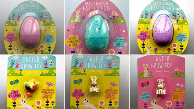Toys From Target : Target recalls water absorbing easter and dino toys for risk of