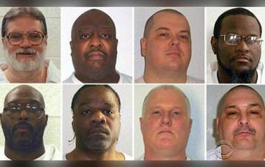 Judge blocks 11-day spree of executions set to begin in Arkansas