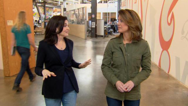 "Sheryl Sandberg on living ""Option B"" - CBS News"
