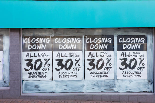 The 10 retailers most likely to fail in 2017