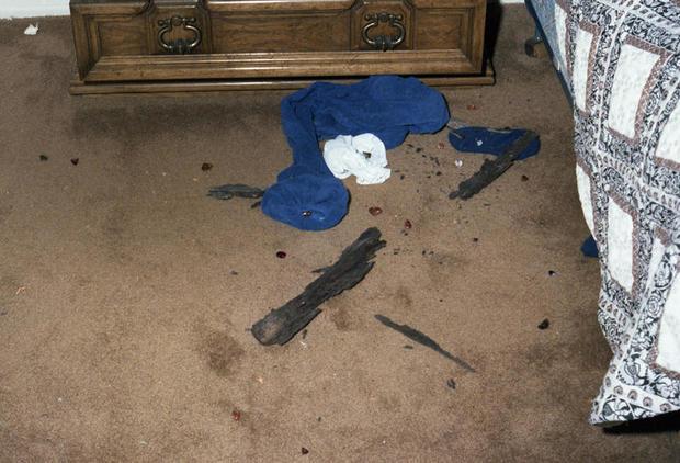 GSK crime scene evidence