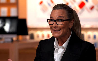 """Why Angela Ahrendts wants Gen Z to say, """"Meet me at Apple"""""""