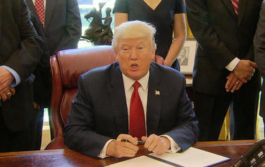 President Trump pushes for health care, tax reform ahead of 100th day
