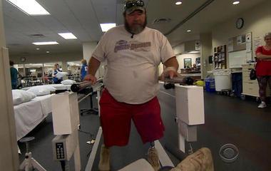 Vet caught up in VA bureaucracy finally walking again