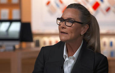 Apple exec Angela Ahrendts on getting back to human connections