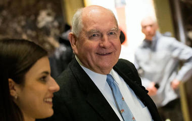Sonny Perdue confirmed as secretary of agriculture