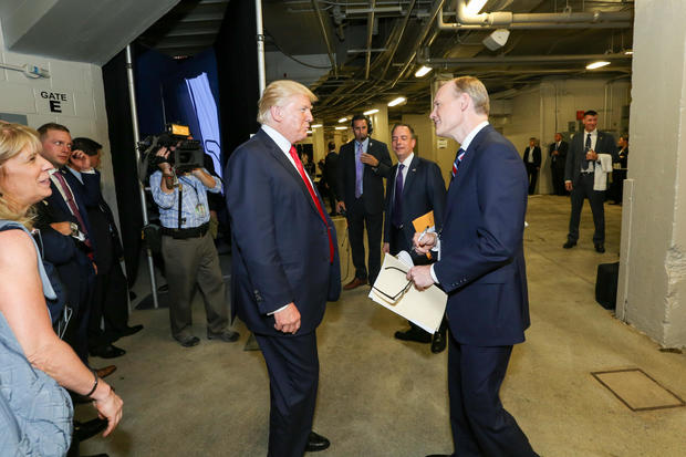 FTN Behind the Scenes: John Dickerson Interviews President Donald Trump