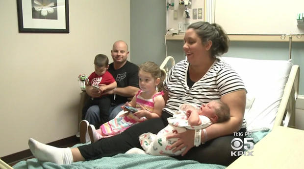 Mother gives birth to one of largest babies ever born in