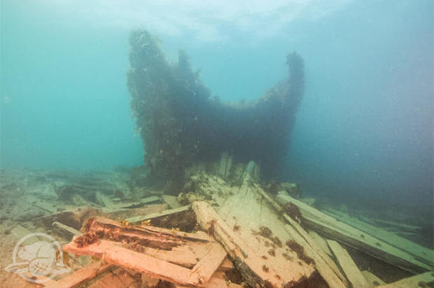 Underwater vehicles explore Franklin Expedition shipwreck