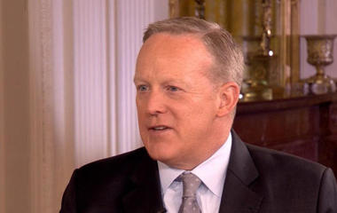 Press Secretary Sean Spicer on the White House's relationship with media