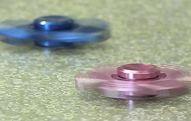 Fidget toys are big in this school district