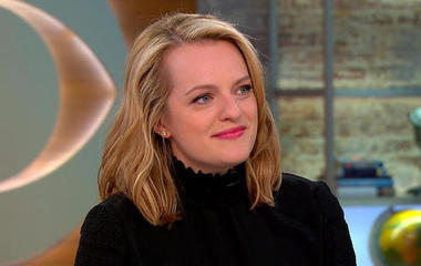 "Actress Elisabeth Moss on dystopian series ""The Handmaid's Tale"""