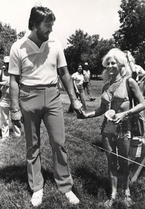 Priscilla Davis and Stan Farr