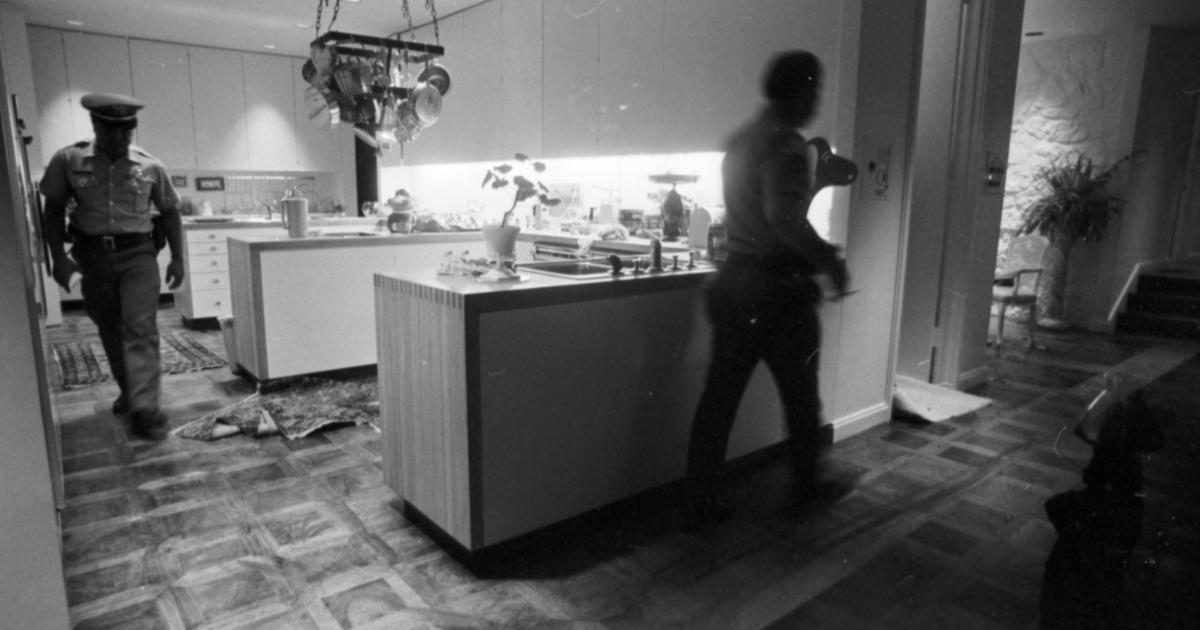 Cullen Davis Case Mansion Murders Crime Scene Photos Cbs News