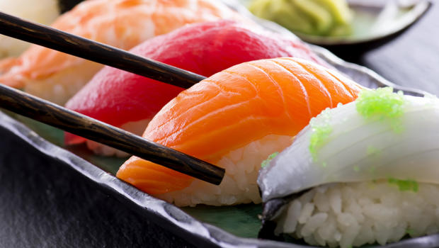 Sushi parasite that embeds in the stomach is on the rise for Is sushi raw fish