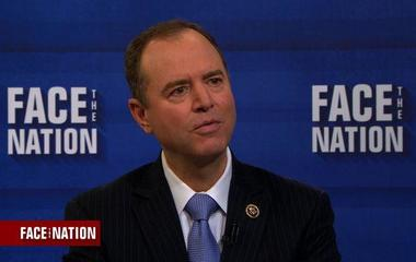 """Rep. Adam Schiff """"bothered"""" by Attorney General's role in picking new FBI Director"""