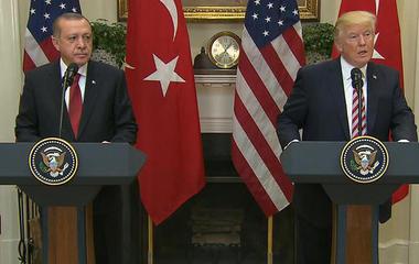 "President Trump on ""strategic partnership"" with Turkey"