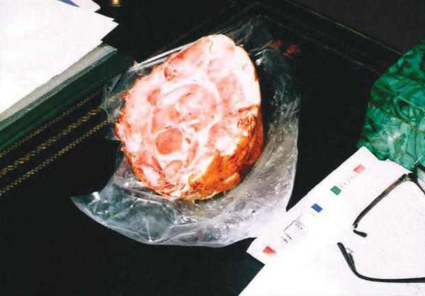 Ham left at Miglin crine scene