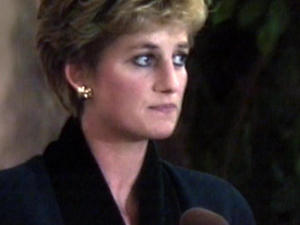 Princess Diana's moment bowing out of public life
