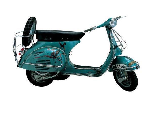 The style of Vespa