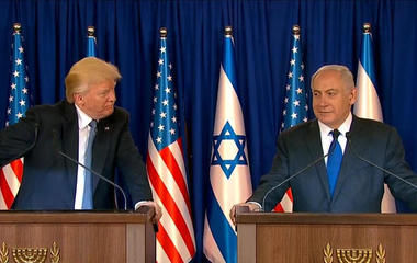Trump pushes for new partnership in Middle East