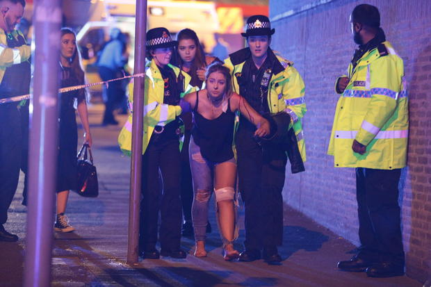 Manchester concert explosion